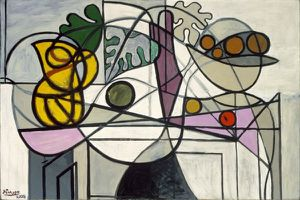 Picasso 1931 Coupe de fruits & feuillage St Louis Art Museu