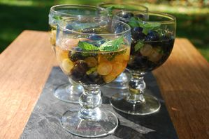 Raisins en gelée