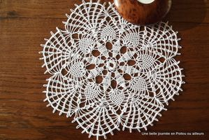 Napperon crochet d'art N°1