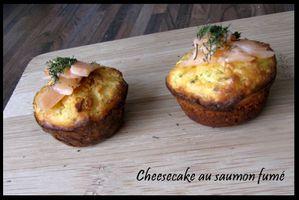 cheesecake au saumon fumé ricotta