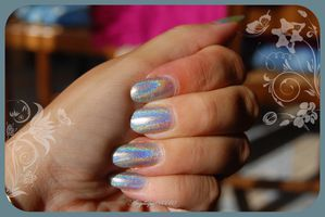 holo m cosmetic silver 046 bis