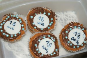 cup cake 18ans