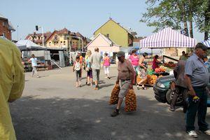 Photo des gens au marché de Nowy targ de Zakopanejpg