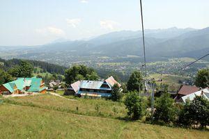 Photo depuis le téléphérique de zakopane en pologne.jpg