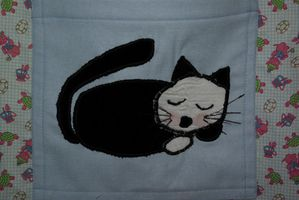 Sac Chat Tortue Zoom Chat