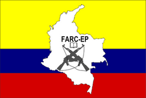 Flag of the farc-ep