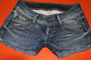 DIP DYE DENIM SHORTS 004