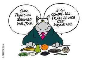 Philippe Geluck Le Chat Passe 224 Table Distractions Pierre