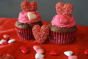 Cupcakes pour la Saint-Valentin