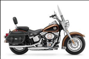 Photo Harley davidson Softail