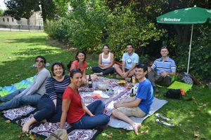 Le déjeuner sur l'herbe à Vincennes