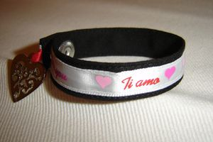Bracelet I love you coeur