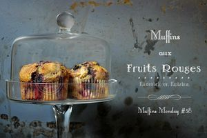 Recette-muffins-fruits-rouges Cathy