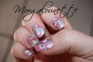 Nail art fraise beautedesign-shop morgalounette