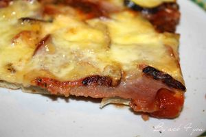 pizza bacon Saint-Nectaire 2