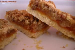 Croquant aux abricots comme 3 pommes - Canneles bordelais recette originale ...