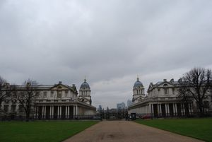 Greenwich - Old Naval College vue arrière