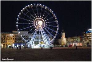 Lyon Place Bellecour grande roue