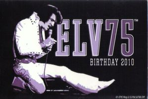 Elvis birthday 75