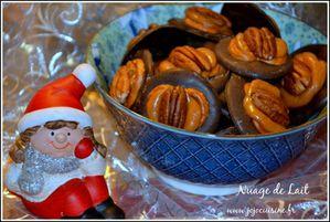 Bretzel Caramel Noix de Pécan et chocolat