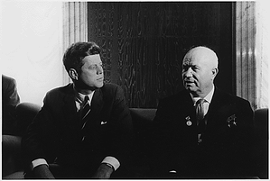kennedy and khrushchev in vienna 1961