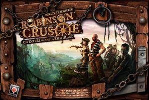 Robinson Crusoe-Adventure on the Cursed Island-Boite jeu