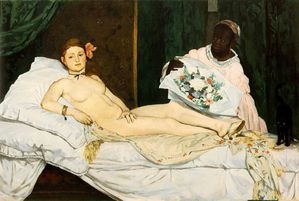 Manet, Edouard - Olympia, 1863