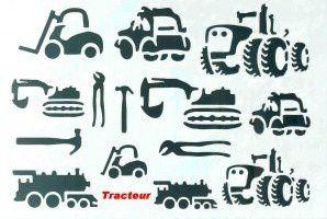 gabarit tracteur