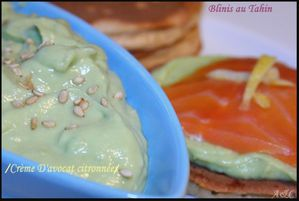 blinis au tahin 1