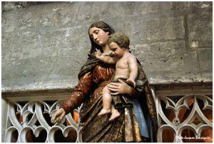 Beauvais Eglise St Etienne Madone 1