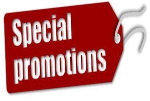 Spécial promotions