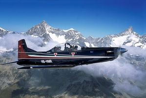 Pilatus PC-7 Mk II aircraft