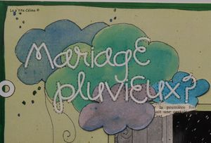 Mariage pluvieux - 2