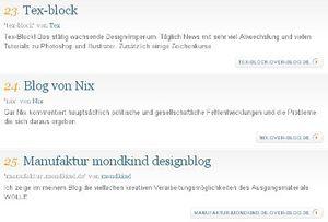 Nixblog auf Platz 24