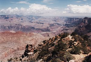 Grand Canyon-Desert view