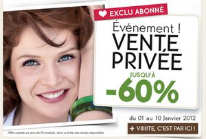 vente privee yves rocher