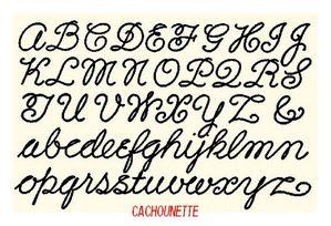 lettre jolie alphabet lettres rondes   mes petits bricolages et mes chats lettre jolie