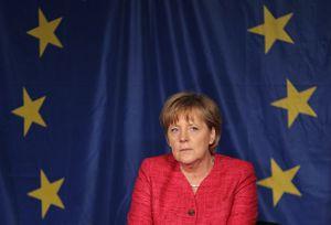 Merkel+euro
