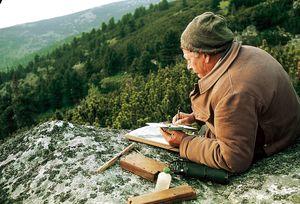 Robert Hainard dans les Pyrénées