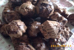 brownies chocolat noisettes