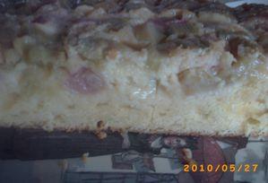 gâteau à la rhubarbe 7
