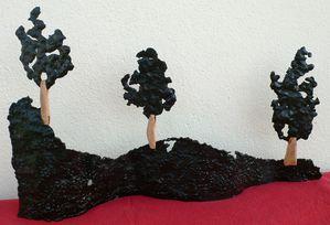 1 Arborescences métalliques