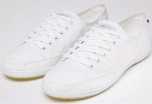 chaussures Lafeyt blanches