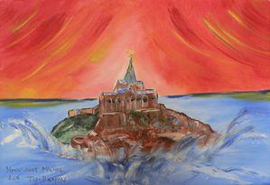 190 - Mont Saint Michel VIII - août 2011 - 41X27