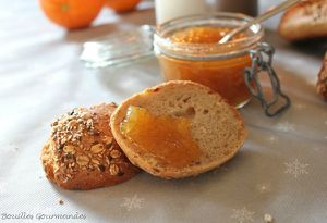 bouilles gourmandes confiture d'orange aux notes de pain d'