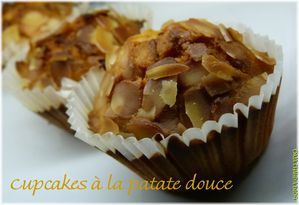 cupcakes patate douce