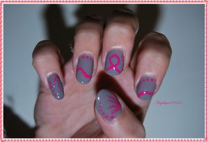 faint of heart nails papillons+na oct rose (58) bis