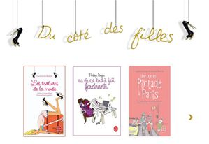 Le livre de poche - Site internet - book&buzz