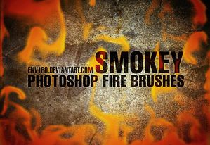 b-smokey fire brushes