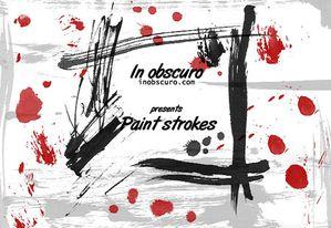 b-paint strokes